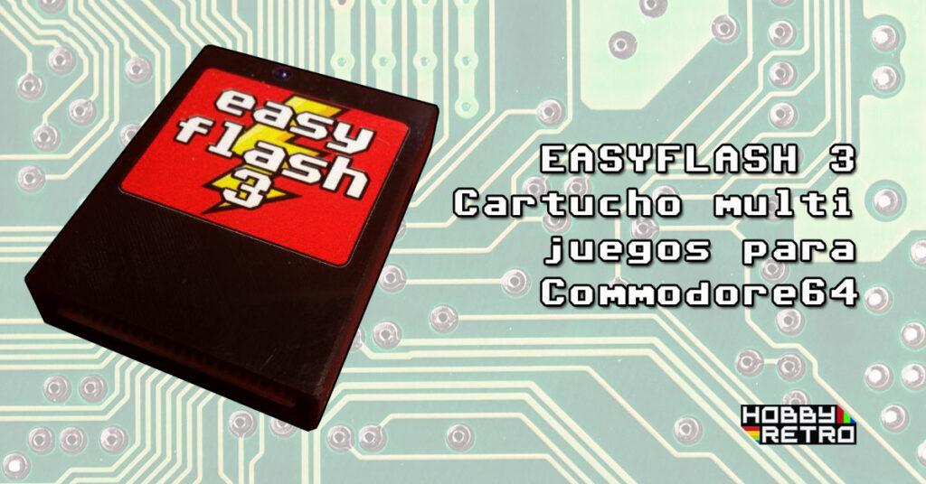 easyflash3 post Easy Flash 3, cartucho multijuegos para Commodore64