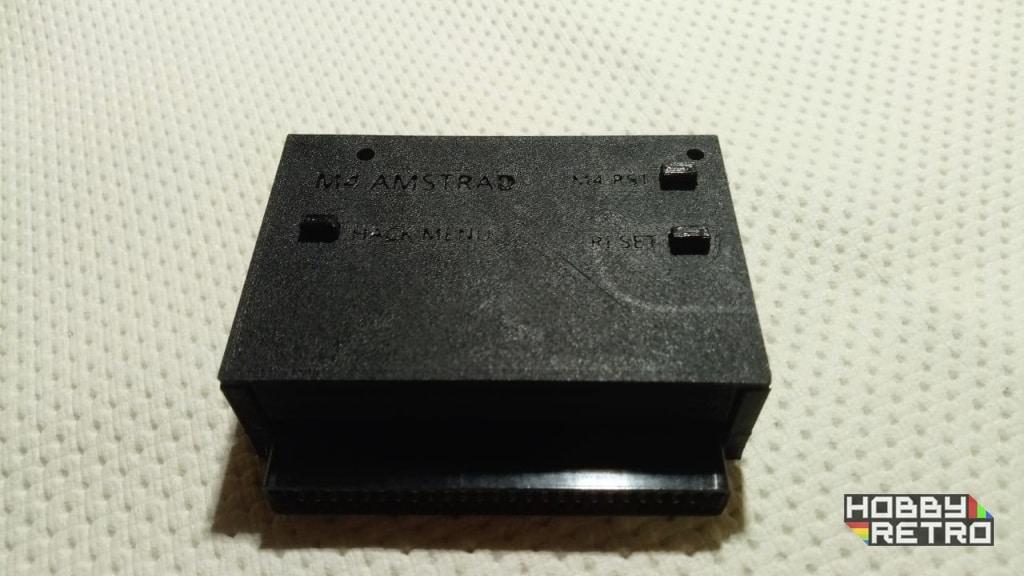 M4 Board EDGE case hobbyretro 02 Caja en impresión 3D para M4 Board EDGE 3 pulsadores