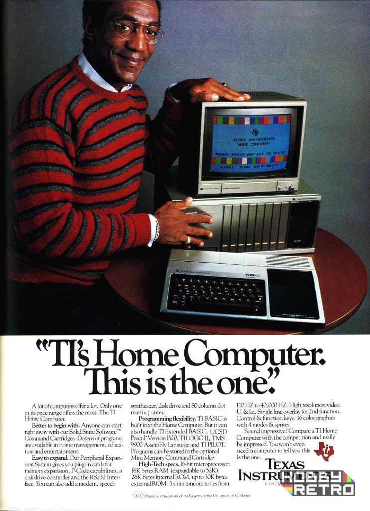 TI 99 4A publicidad hobbyretro 02 Texas Instruments TI-99/4A