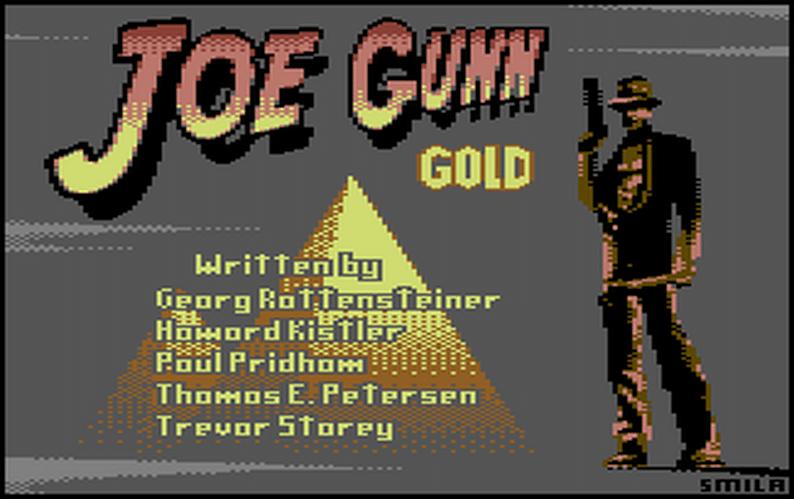 3SwgDo 1 Joe Gunn Gold · Commodore 64