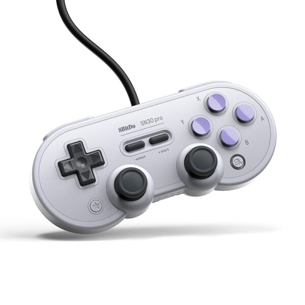 8bitdo mando con cable USB para Nintendo Switch mando con cable USB para Windows Raspberry Pi 8bitdo-mando con cable USB SN30 Pro