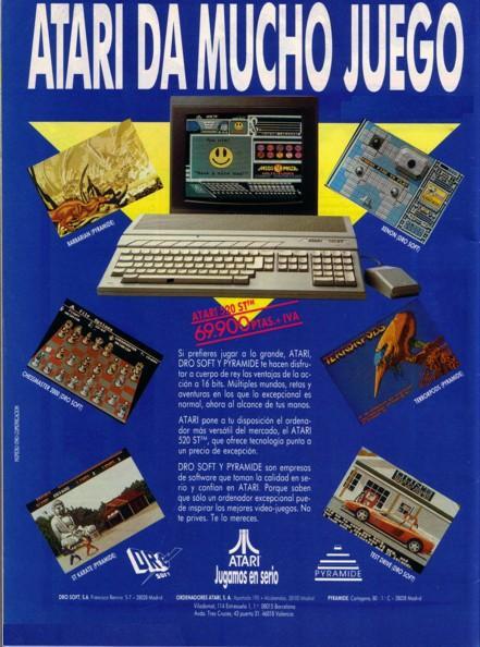 atari 520ST publicidad Atari 520ST