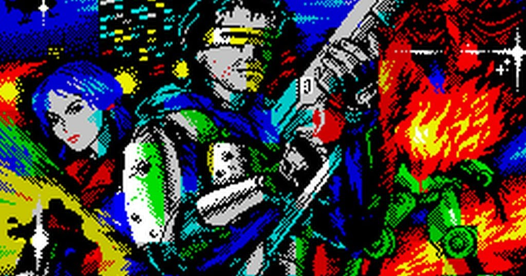 Metal Man Reloaded · Spectrum ZX