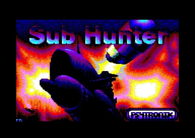 sub hunter carga Sub Hunter · Amstrad CPC