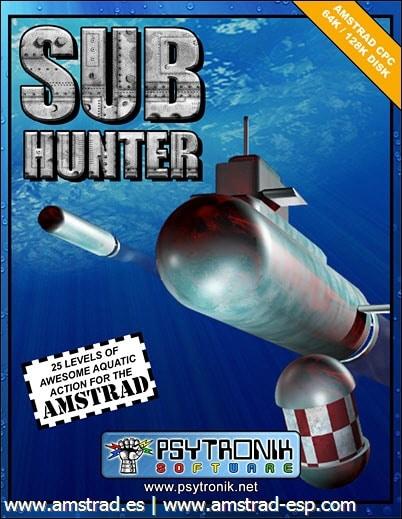 sub hunter disco cover Sub Hunter · Amstrad CPC