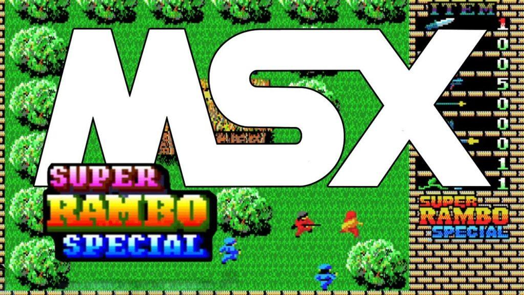 super rambo special Super Rambo Special · MSX