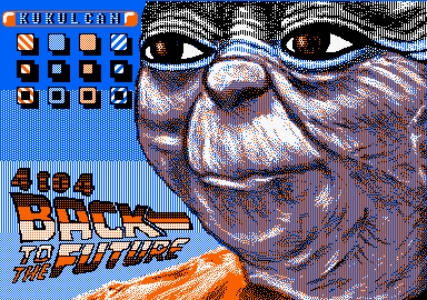 4to4 Back To The Future · Amstrad CPC