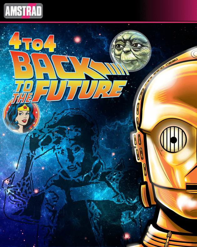 4to4 4to4 Back To The Future · Amstrad CPC