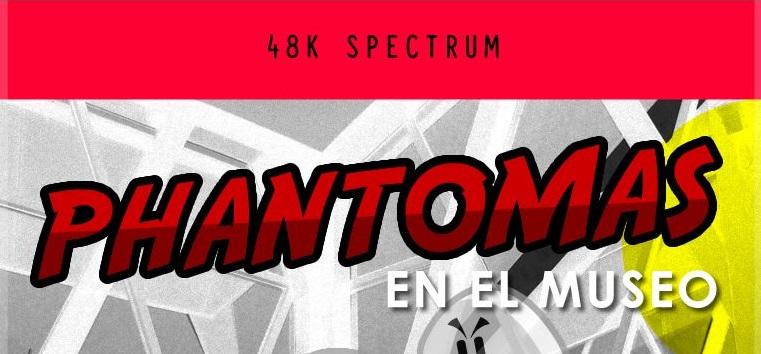 582285 phantomas en el museo zx spectrum front cover Phantomas en el museo · ZX Spectrum