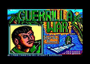8598 guerrilla war Guerrilla War · Amstrad CPC