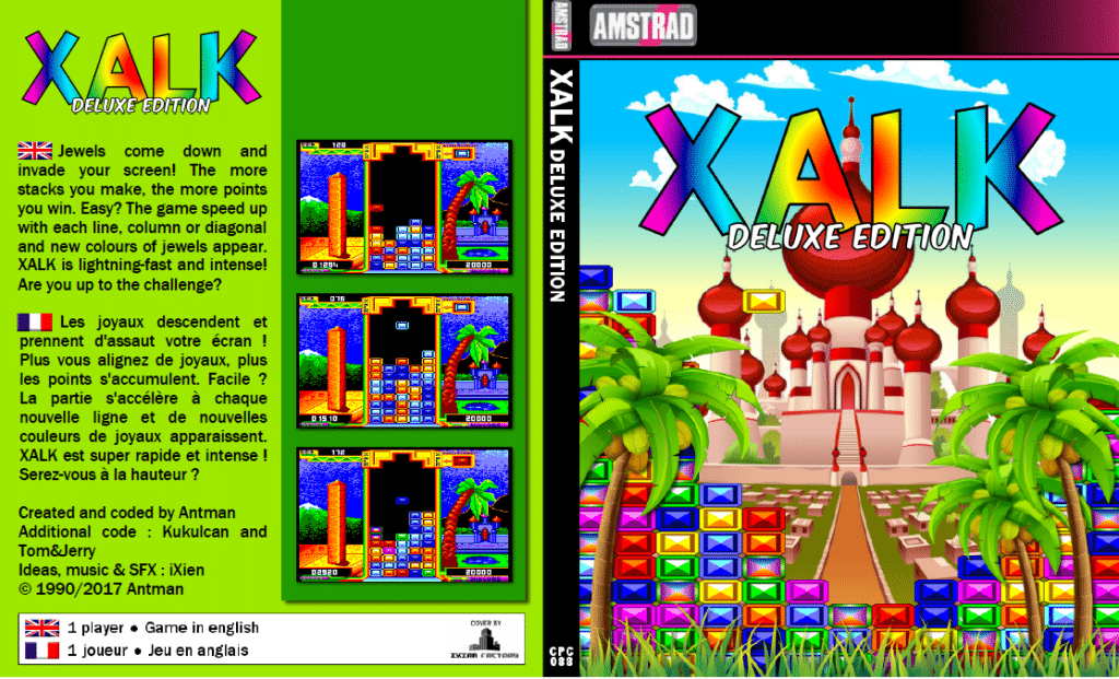 Sin titulo 1 Xalk Deluxe edition · Amstrad CPC