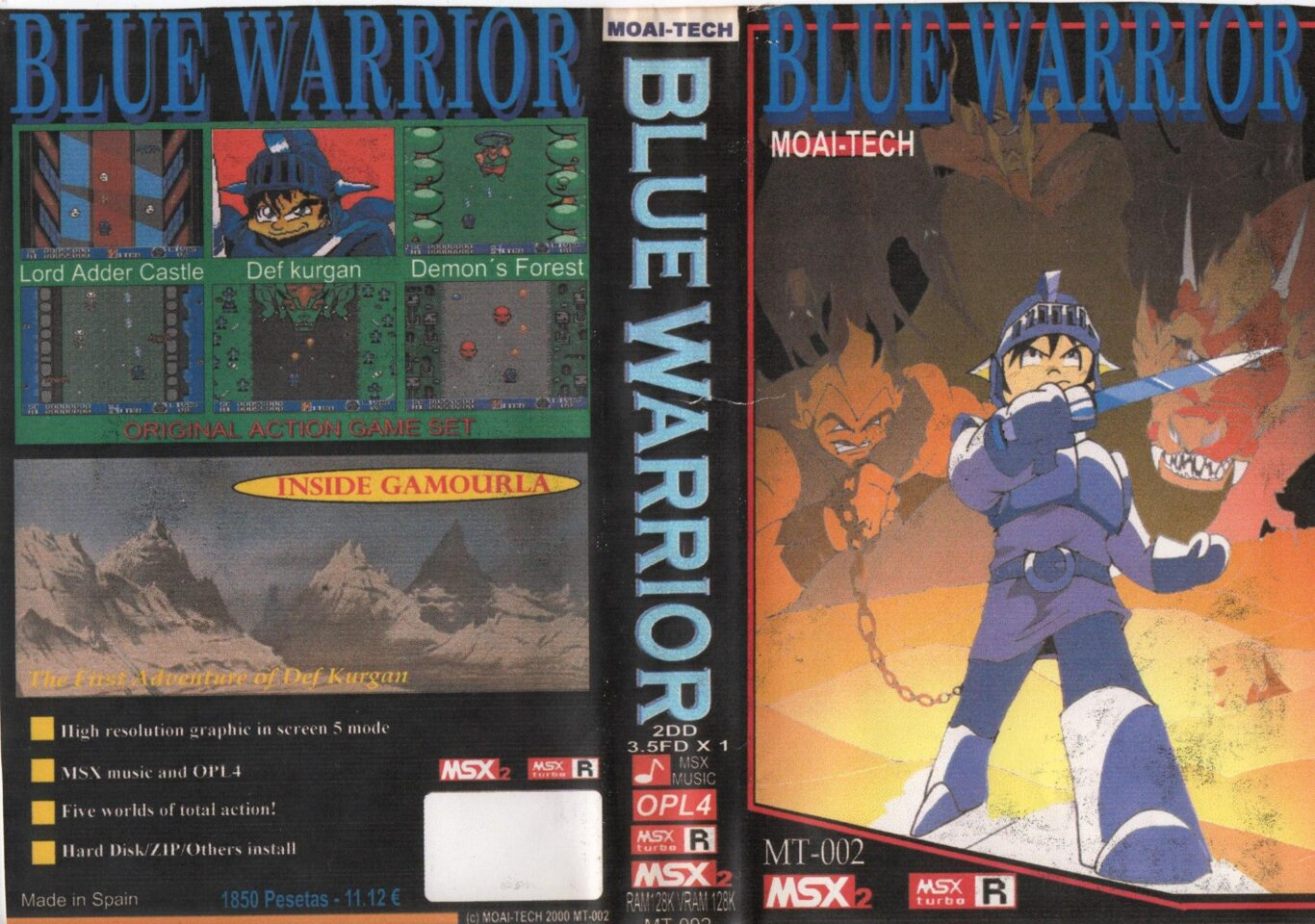 Blue Warrior · MSX