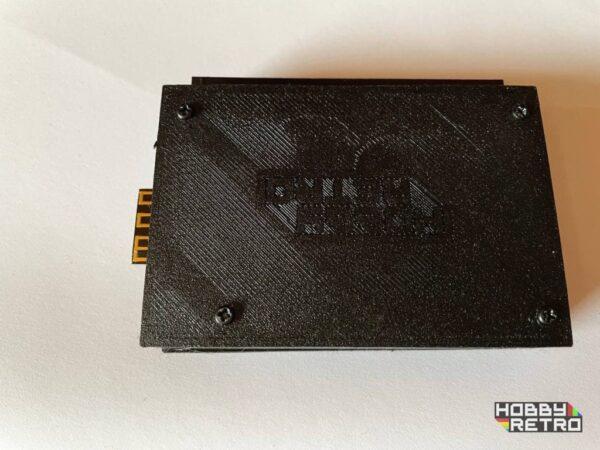 m4board idc case 001 Caja en impresión 3D para M4 Board IDC 3 pulsadores