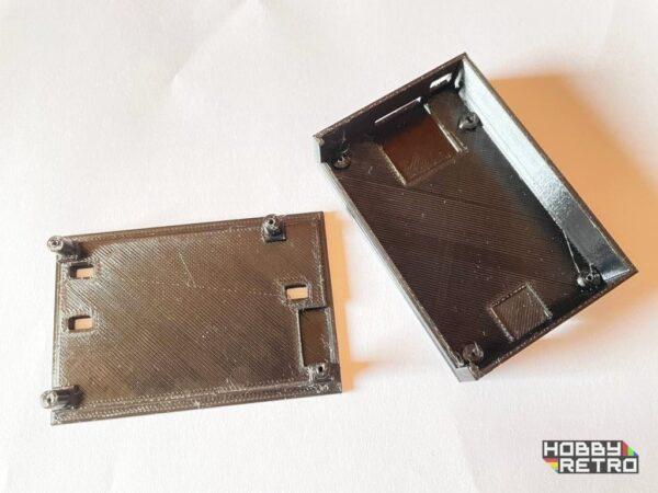 m4board idc case 005 Caja en impresión 3D para M4 Board IDC 3 pulsadores