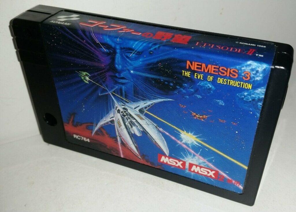 s l1600 Nemesis 3 · MSX