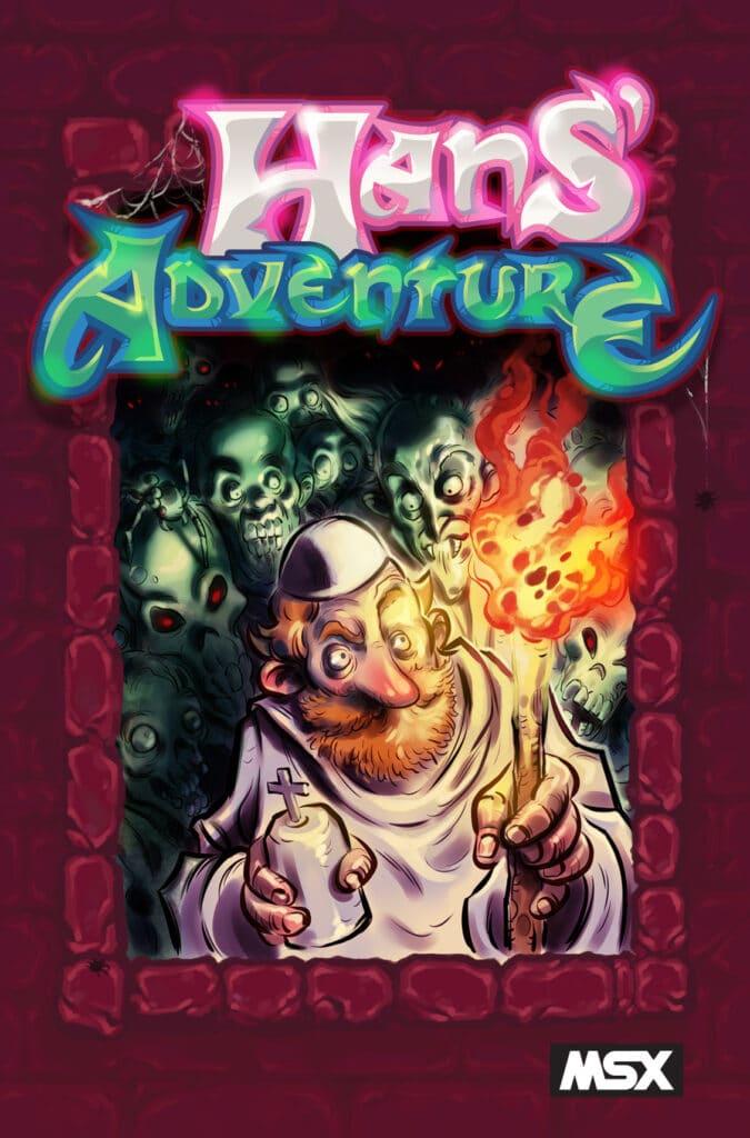 sergio cabanillas hansadventure2 sirelion jpg Hans Adventure · MSX
