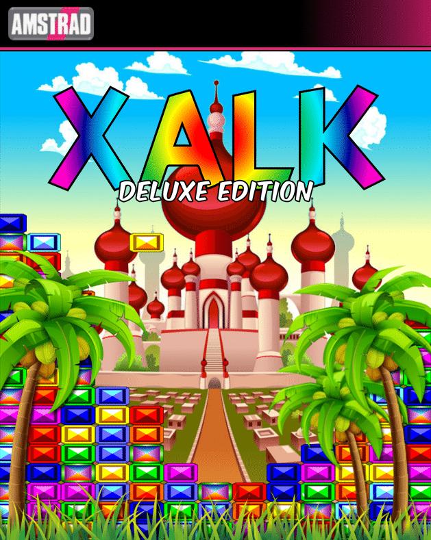 Xalk Deluxe edition · Amstrad CPC