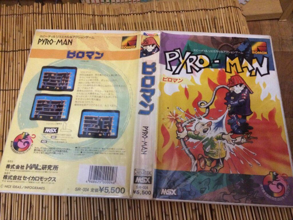 315c7825 Pyro-Man · MSX