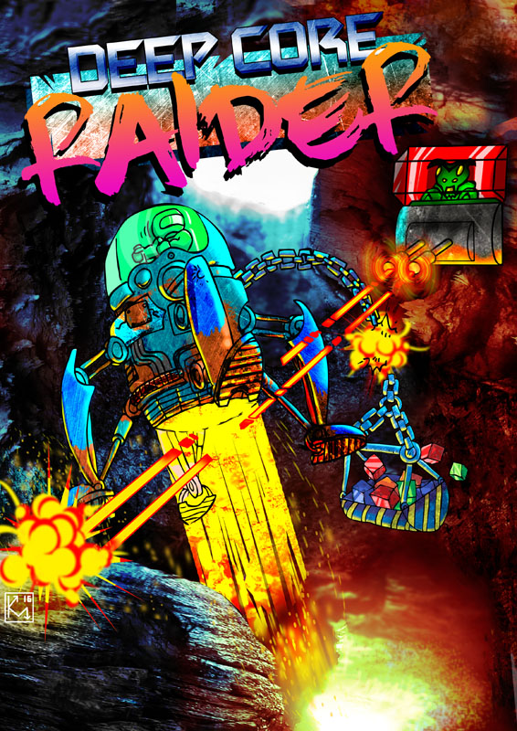 DEEPCORE POR Deep Core Raider · MSX