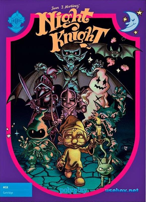 NIGHTKNI POR Night Knight · MSX