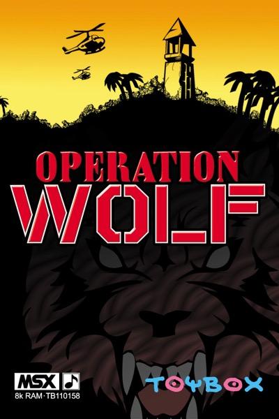 OPERATI2 POR Operation Wolf · MSX