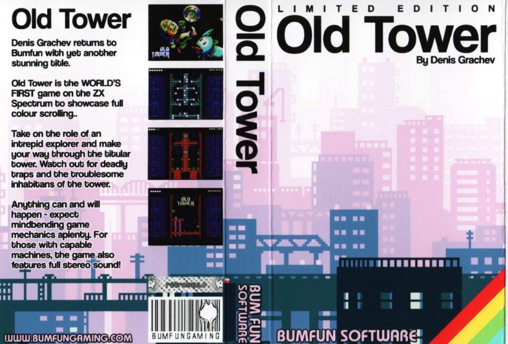 OldTowerBumfunSoftware Old Tower · ZX Spectrum