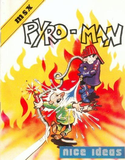 PYROMAN POR Pyro-Man · MSX