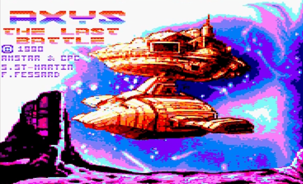 Sin titulo 1 AXYS The Last Battle · Amstrad CPC