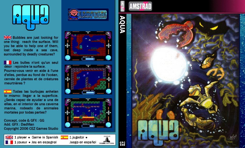 Sin titulo Aqua · Amstrad CPC