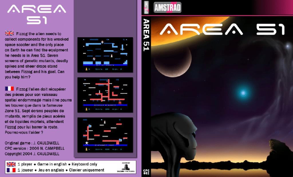 Sin titulo 3 Area51 · Amstrad CPC