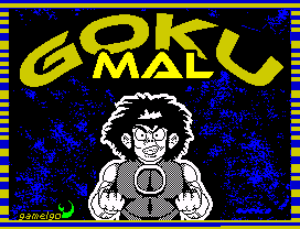 gokumal1 1 Goku Mal · ZX Spectrum
