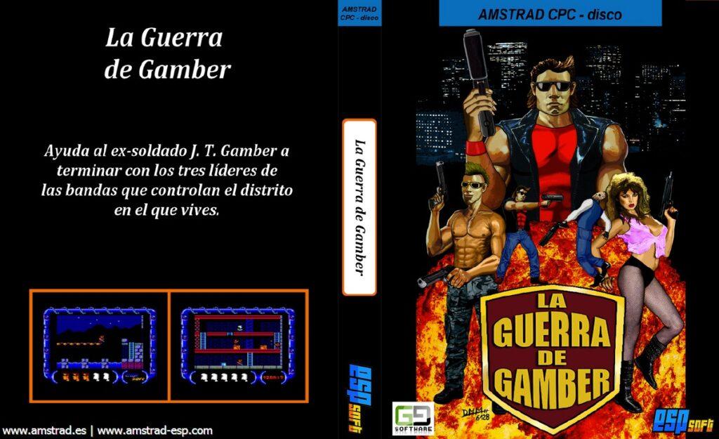 guerra gamber cover disco La guerra de Gamber · Amstrad CPC