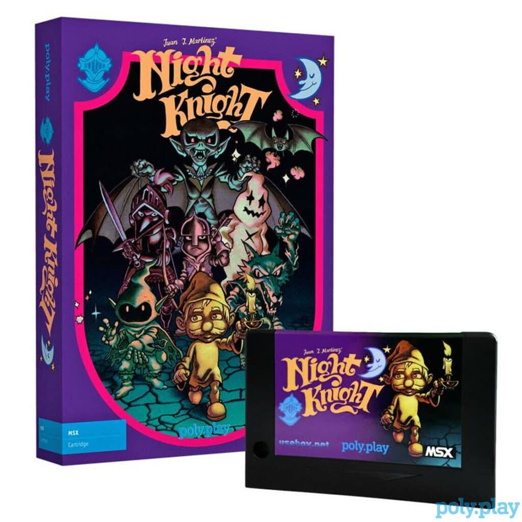 night knight collectors edition cartridge3 Night Knight · MSX