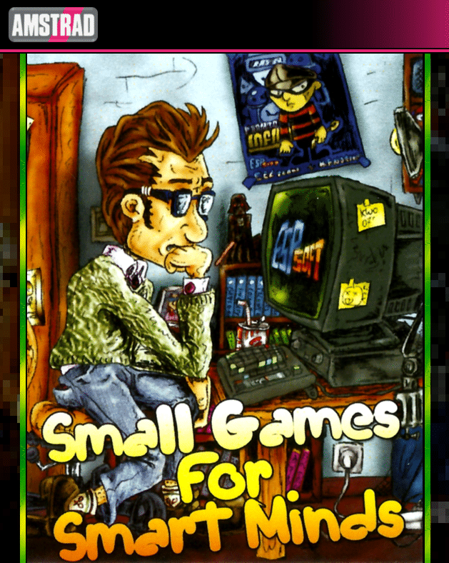 smallgames Small Games for Smart Minds · Amstrad CPC