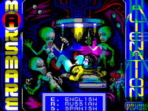Marsmare: Alienation · ZX Spectrum