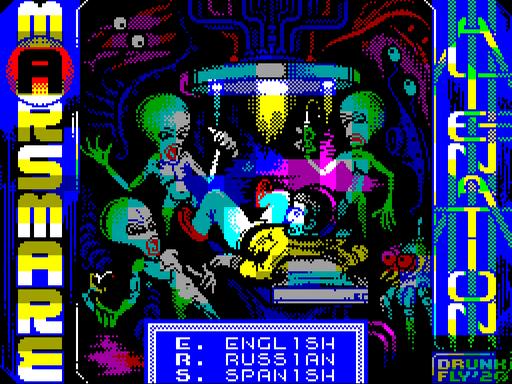 Marsmare: Alienation · ZX Spectrum
