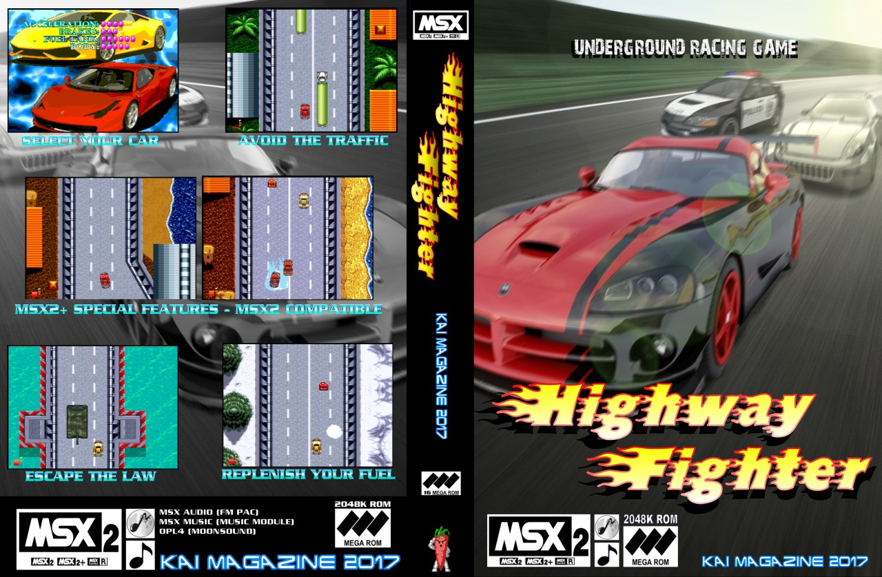 Highway Fighter · MSX2