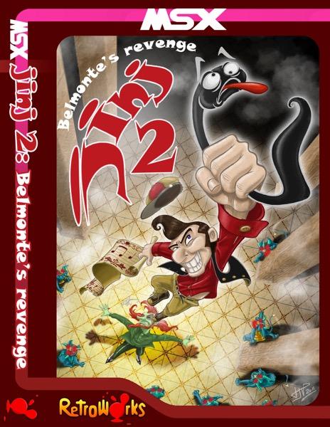 JINJ2 POR Jinj 2 - Belmonte's Revenge · MSX