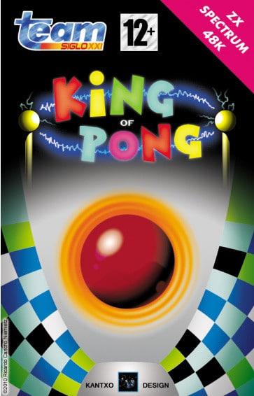 KingOfPong a King of Pong · ZX Spectrum