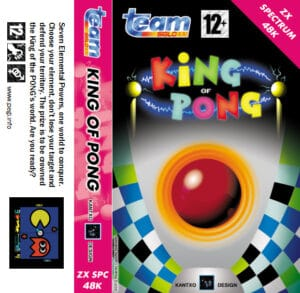 King of Pong · ZX Spectrum