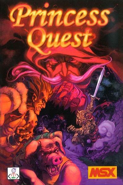 PRINQUES POR Princess Quest · MSX