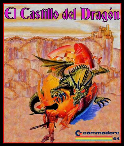 Portada juego El castillo del dragon spunik world El Castillo del Dragón · C64