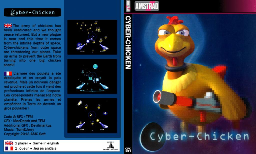 Sin titulo Cyber Chicken · Amstrad CPC