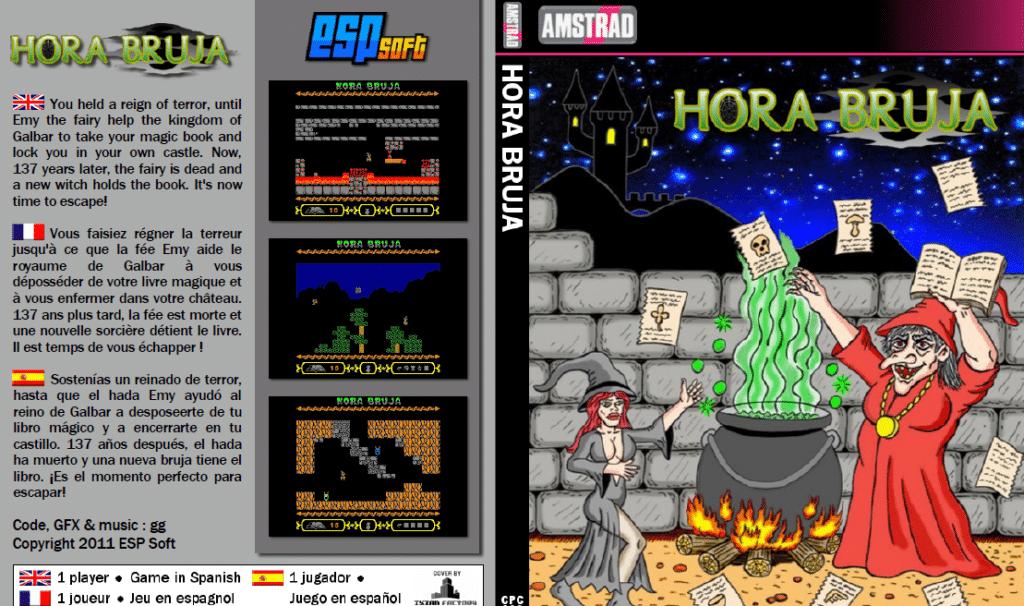 Sin titulo 3 Hora Bruja · Amstrad CPC