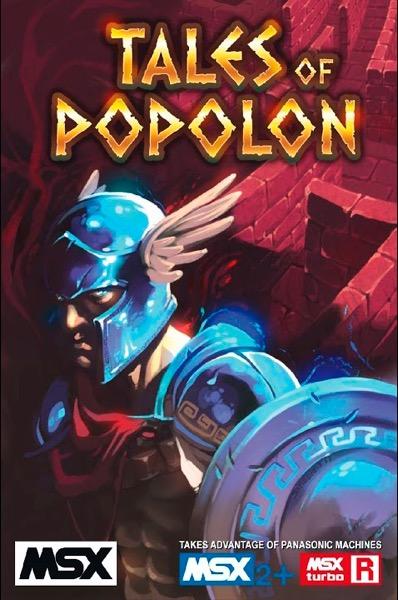 TOP POR Tales of Popolon · MSX
