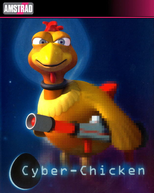 cyberchicken Cyber Chicken · Amstrad CPC
