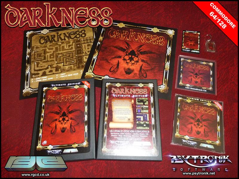 dark promo Darkness · C64