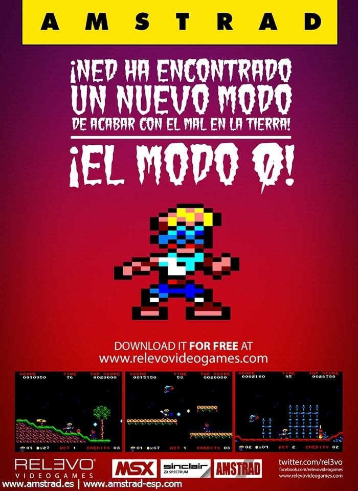 invasion zombie monsters publi Invasion of the Zombie Monsters · Amstrad CPC