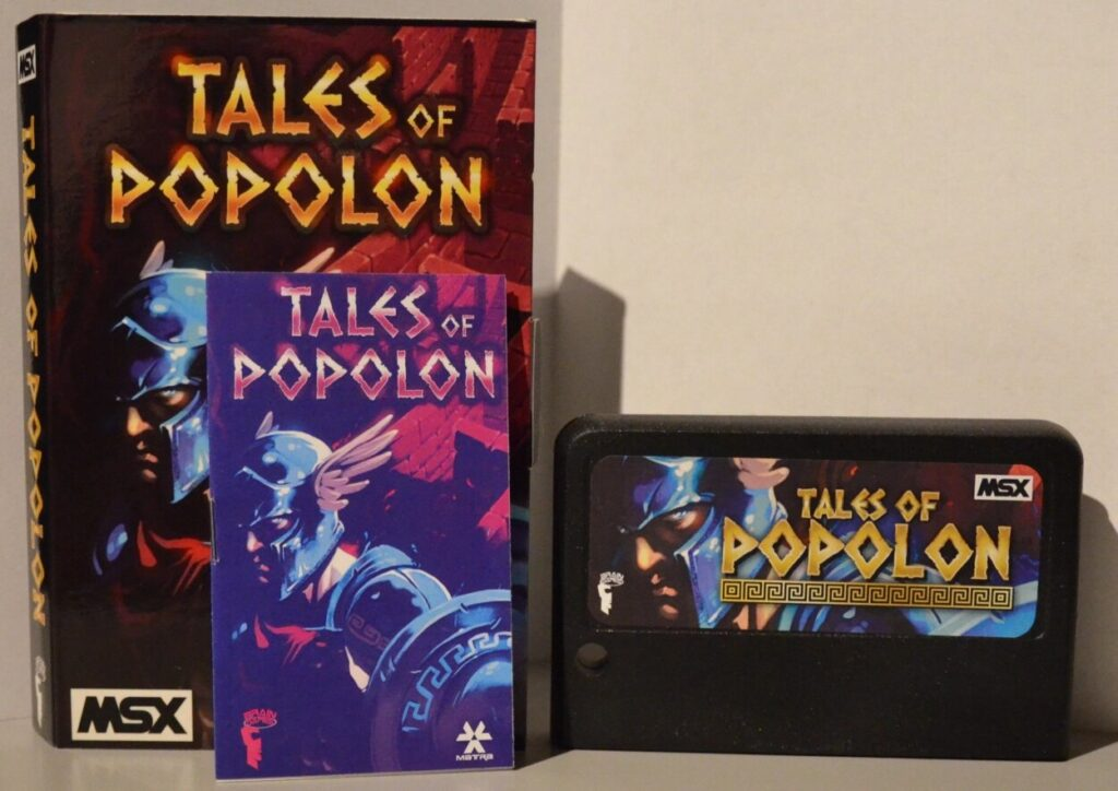 top 4 copy Tales of Popolon · MSX