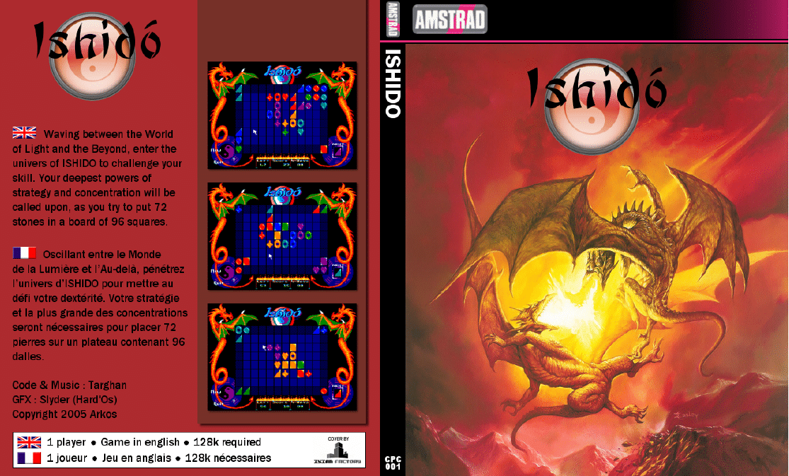 Ishido · Amstrad CPC